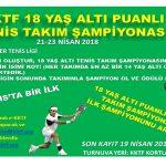 KKTF Puanlı ÜTA 18 Yaş Altı Takım Şampiyonası