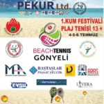 PEKUR BEACH TENNIS TOUR BAŞLIYOR…