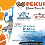 PEKUR BEACH TENNIS TOUR-2 BAŞLIYOR…