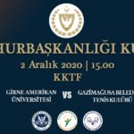 KKTF 2020 CUMHURBAŞKANLIĞI KUPASI